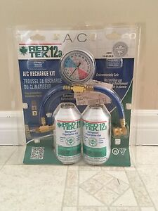 Red Tek Air Conditioning Recharge Kit $40