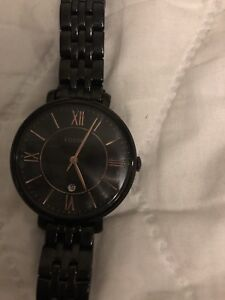 Fossil Watch ( All Black Jacqueline)