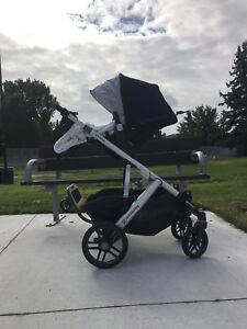UPPAbaby vista double with extras