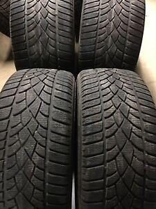 Set of 4 — 275/30/20 Dunlop winter tires