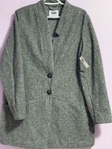 New old navy wool coat in xl size