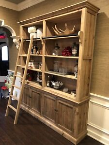 Bookcase/display unit, beautiful reclaimed Pine