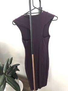 Kookai deep purple dress
