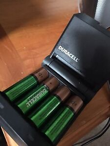 Rechargeable Batteries + Charger