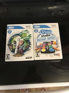 Wii Draw Games