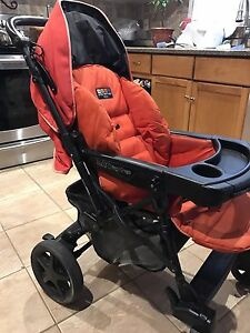 Peg Prego Uno Stroller with Reversible Handle