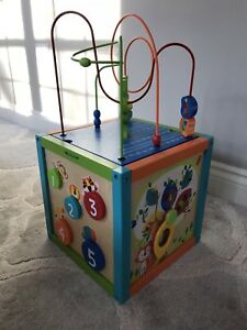 5-Way Activity Play Cube