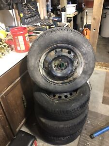 185/70/14 tires and rims for sale