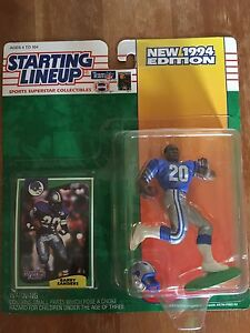 Barry Sanders Starting Lineup Figure