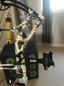 Compound bow and all attached for sale