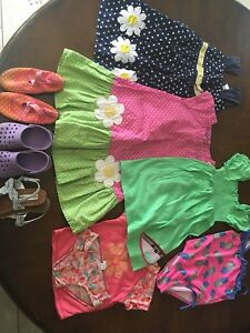 Girls  summer clothes lot size 4