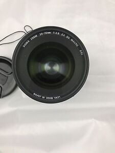 Sigma 24-70mm , Cannon mount