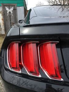 2015 mustang 50th anniversary package taillights