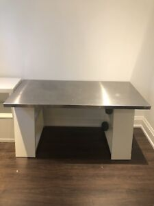 Stainless Steel top desk!!