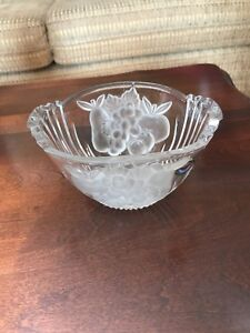 Antique Lead Crystal Bowl - Made in Germany