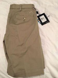 Men's ADIDAS Khaki golf shorts 30 waist