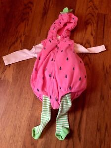 Carters strawberry  costume