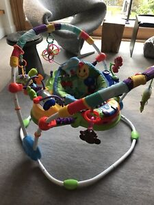 EUC Baby Einstein Jumperoo with extra toys