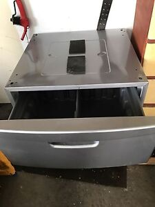 Samsung frontload washer and dryer stands