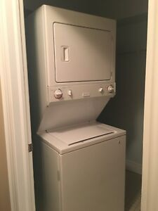 Stacking washer and dryer - full size!