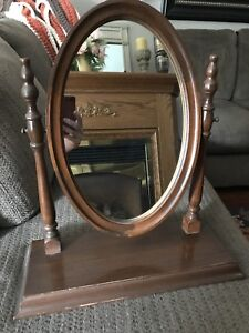 Antique dresser/vanity mirror