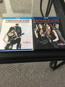 Terminator The Sarah Connor Chronicles complete series Blu Ray