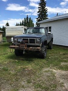 86' GMC Lifted