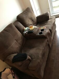 Multiple items for sale at cheap cost! Lights, TV, chairs & bed.