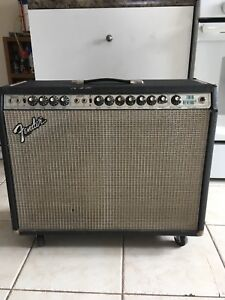 Fender twin reverb. Late 70s silver face