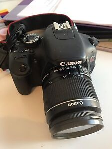 Canon T3i with 18-55mm lens