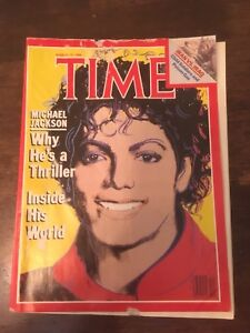 Time Magazine with Michael Jackson