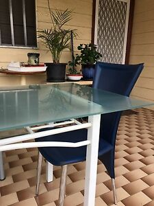 Dinning table and  Free leather Sofa Auburn Auburn Area Preview