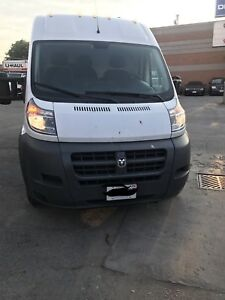2016 dodge promaster ram 2500 extended