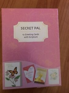 10 Secret Pal greeting cards