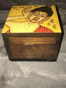 Large Buddha Trinket Box