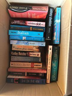 Bulk lot of books