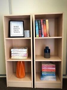 SOLD Beautiful Bookshelf Pair