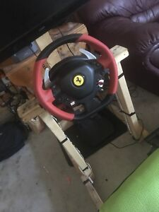 Xbox one wheel and pedals