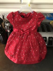 18 Month Love dress with rhinestones