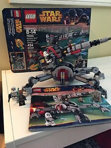 Star Wars Lego 75045 AV-7 anti vehicle canon