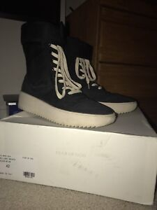 fear of god military boots size 42
