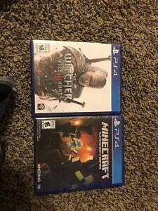 The Witcher 3 and minecraft