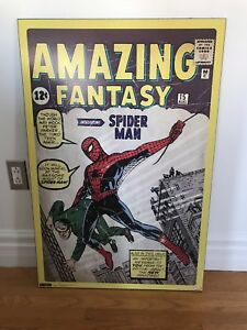 Spider-Man Comic book laminated poster for kids room