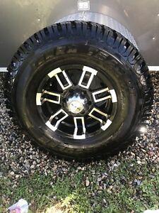 RTX wheels - Hercules Terra Trac D/T tires, 285/75/R16