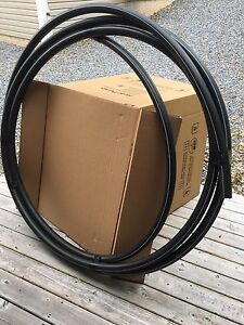 """150 feet of 1.5"""" Black Poly Pipe"""