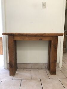 Natural Wood Table Bench (S)