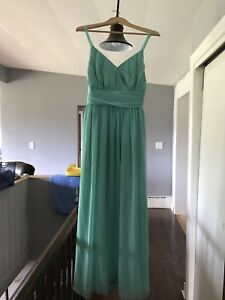 Mint Coloured Bridesmaid Dress