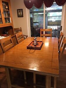 Dining Room Table With Buffet And Hutch