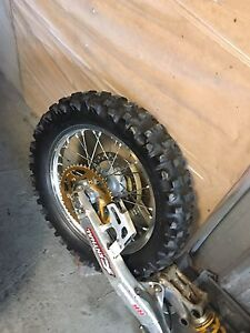 Honda Crf450x rear swing arm with linkages Currumbin Gold Coast South Preview