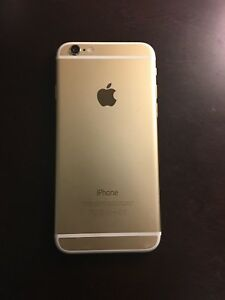 iPhone 6 , gold, 64GB, unlocked, like new